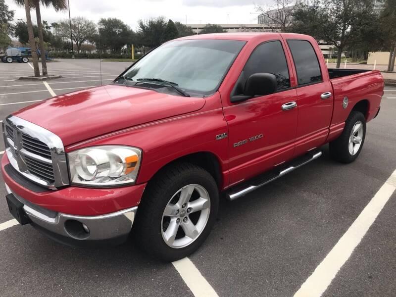 2007 Dodge Ram Pickup 1500 for sale at Florida Coach Trader Inc in Tampa FL