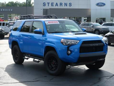 2019 Toyota 4Runner for sale at Stearns Ford in Burlington NC