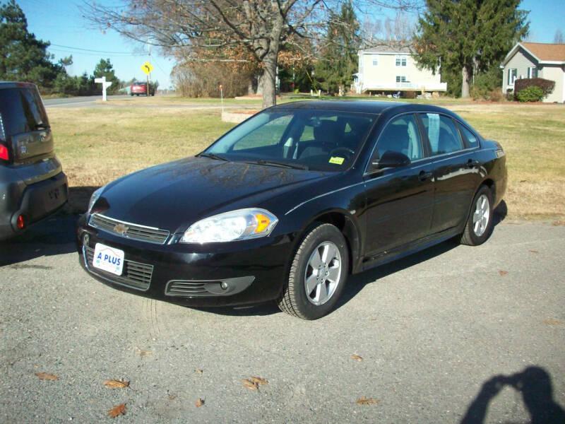 2011 Chevrolet Impala for sale at A-Plus Motors in Alton ME