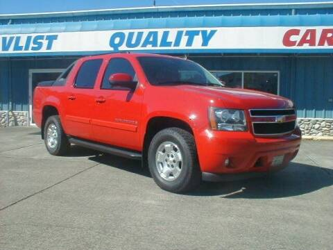 2008 Chevrolet Avalanche for sale at Dick Vlist Motors, Inc. in Port Orchard WA