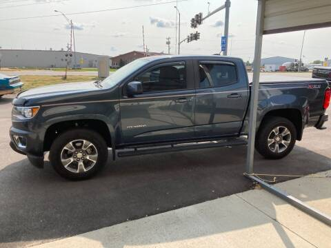 2019 Chevrolet Colorado for sale at Fiala Automotive in Howells NE