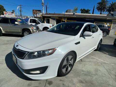 2011 Kia Optima Hybrid for sale at Good Vibes Auto Sales in North Hollywood CA