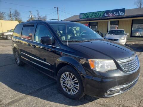 2013 Chrysler Town and Country for sale at speedy auto sales in Indianapolis IN
