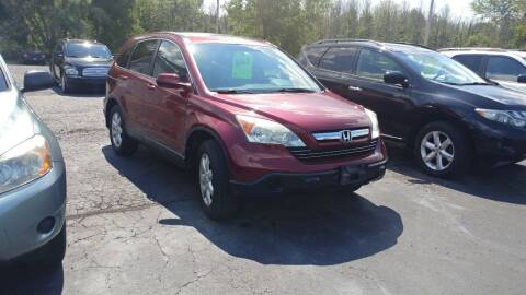 2008 Honda CR-V for sale at Pool Auto Sales Inc in Spencerport NY