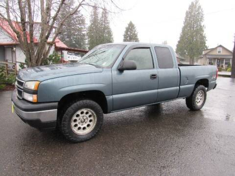 2006 Chevrolet Silverado 1500 for sale at Triple C Auto Brokers in Washougal WA