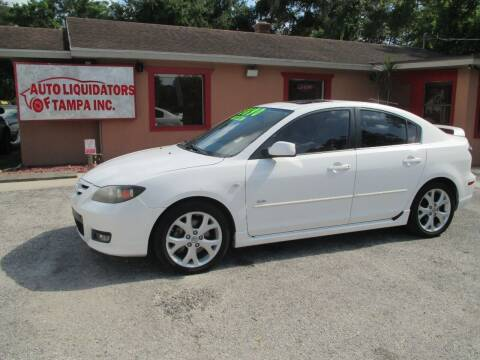 2007 Mazda MAZDA3 for sale at Auto Liquidators of Tampa in Tampa FL