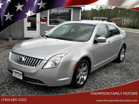 2010 Mercury Milan for sale at THOMPSON FAMILY MOTORS in Senecaville OH