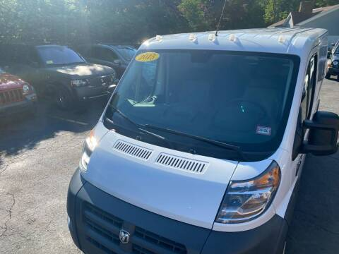 2015 RAM ProMaster Cargo for sale at Paradise Auto Sales in Swampscott MA