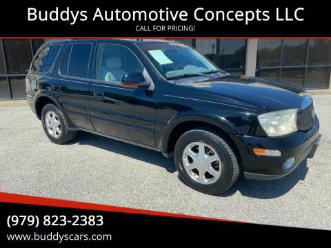 2005 Buick Rainier for sale at Buddys Automotive Concepts LLC in Bryan TX