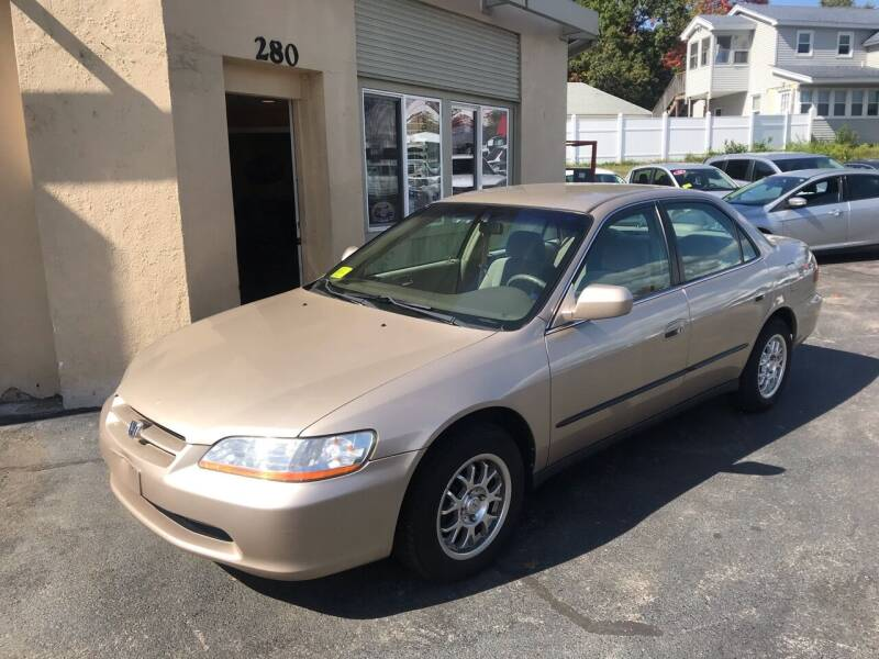 2000 Honda Accord for sale at Autowright Motor Co. in West Boylston MA