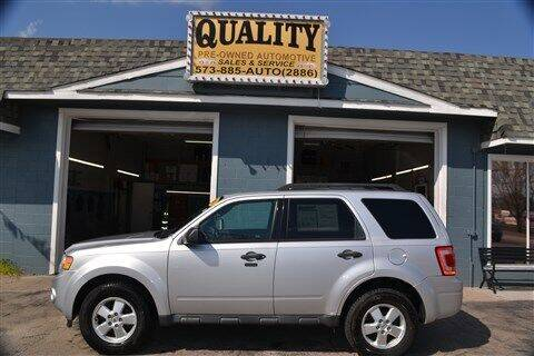 2012 Ford Escape for sale at Quality Pre-Owned Automotive in Cuba MO