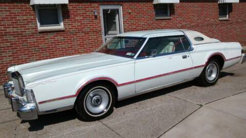 1975 Lincoln Continental for sale at Classic Car Deals in Cadillac MI