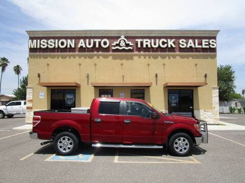 2013 Ford F-150 for sale at Mission Auto & Truck Sales, Inc. in Mission TX