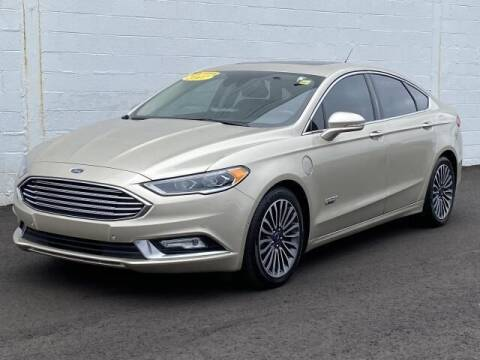 2017 Ford Fusion Energi for sale at TEAM ONE CHEVROLET BUICK GMC in Charlotte MI