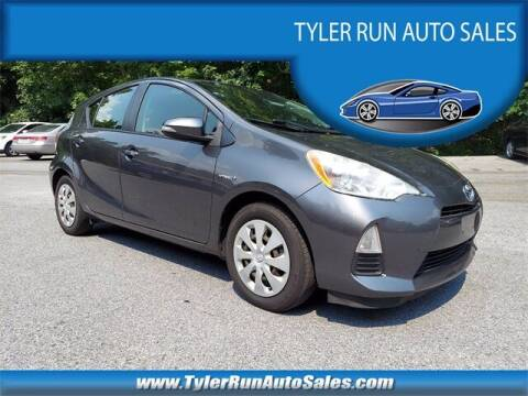 2013 Toyota Prius c for sale at Tyler Run Auto Sales in York PA