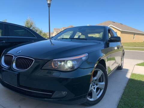 2008 BMW 5 Series for sale at FLORIDA MIDO MOTORS INC in Tampa FL