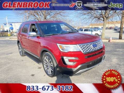 2017 Ford Explorer for sale at Glenbrook Dodge Chrysler Jeep Ram and Fiat in Fort Wayne IN