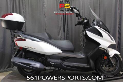 2017 Kymco Downtown 300i for sale at Powersports of Palm Beach in Hollywood FL