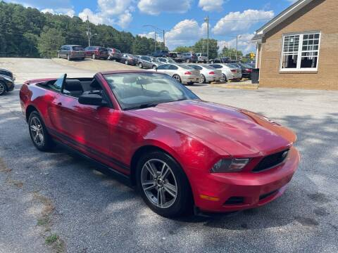 2010 Ford Mustang for sale at Philip Motors Inc in Snellville GA