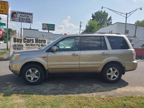 2006 Honda Pilot for sale at Cherokee Auto Sales in Knoxville TN