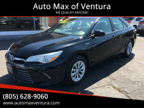 2015 Toyota Camry Hybrid for sale at Auto Max of Ventura in Ventura CA