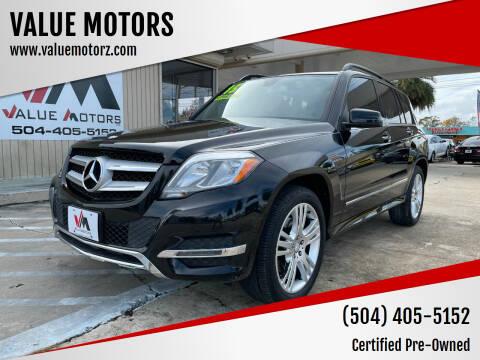 2015 Mercedes-Benz GLK for sale at VALUE MOTORS in Kenner LA