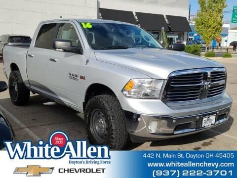 2016 RAM Ram Pickup 1500 for sale at WHITE-ALLEN CHEVROLET in Dayton OH
