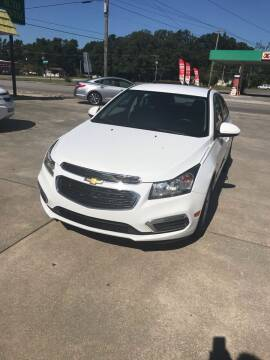 2015 Chevrolet Cruze for sale at Safeway Motors Sales in Laurinburg NC