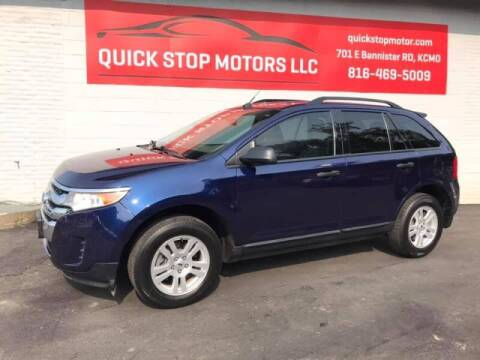 2011 Ford Edge for sale at Quick Stop Motors in Kansas City MO