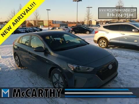 2018 Hyundai Ioniq Hybrid for sale at Mr. KC Cars - McCarthy Hyundai in Blue Springs MO