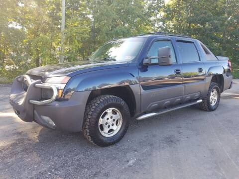 2004 Chevrolet Avalanche for sale at Amherst Street Auto in Manchester NH
