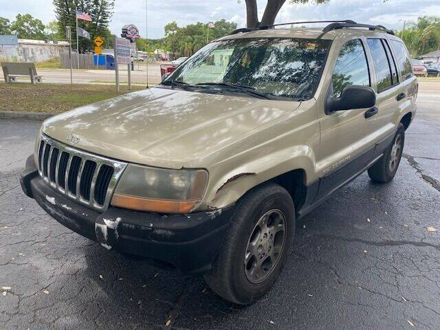 2000 Jeep Grand Cherokee for sale at Florida Prestige Collection in Saint Petersburg FL