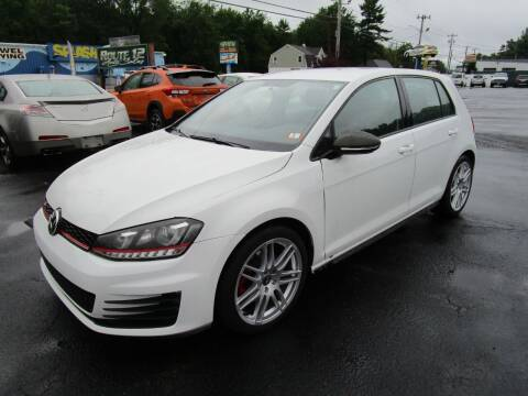 2017 Volkswagen Golf GTI for sale at Route 12 Auto Sales in Leominster MA