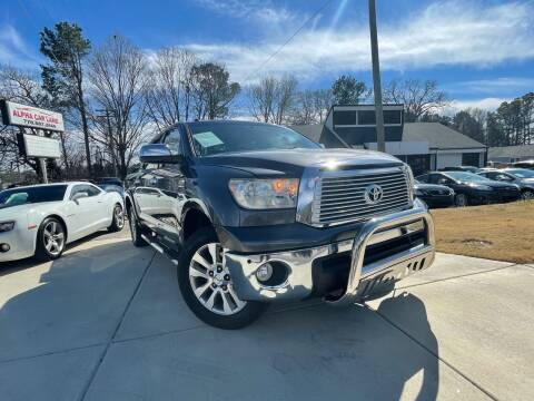 2012 Toyota Tundra for sale at Alpha Car Land LLC in Snellville GA