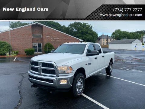 2014 RAM Ram Pickup 3500 for sale at New England Cars in Attleboro MA