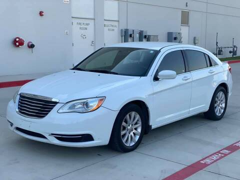 2012 Chrysler 200 for sale at Executive Auto Sales DFW in Arlington TX