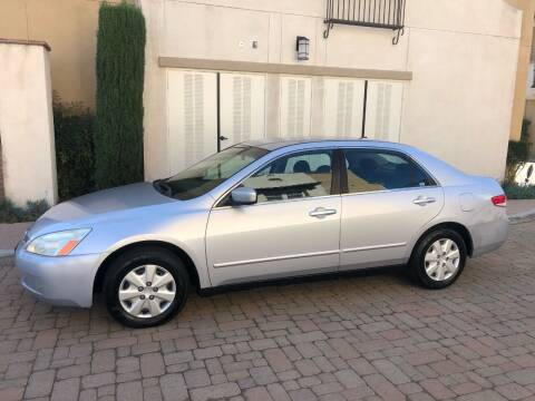 2004 Honda Accord for sale at California Motor Cars in Covina CA
