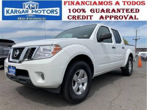 2013 Nissan Frontier for sale at Kargar Motors of Manassas in Manassas VA