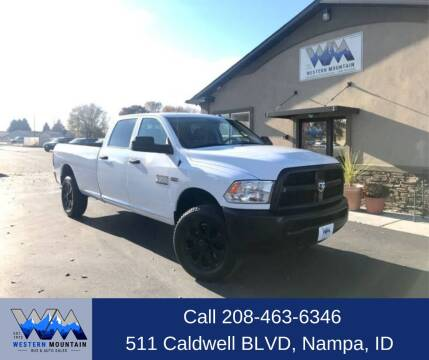 2016 RAM Ram Pickup 3500 for sale at Western Mountain Bus & Auto Sales in Nampa ID