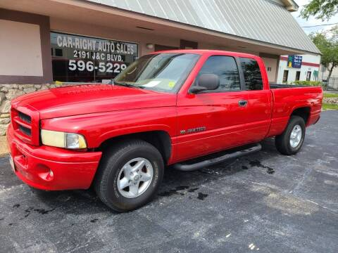 2001 Dodge Ram Pickup 1500 for sale at CAR-RIGHT AUTO SALES INC in Naples FL