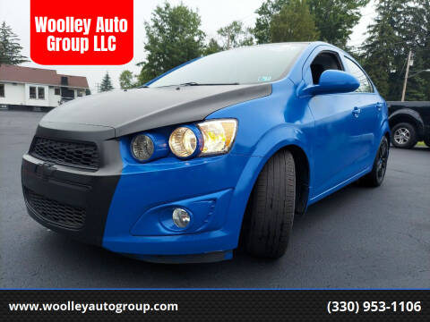 2014 Chevrolet Sonic for sale at Woolley Auto Group LLC in Poland OH