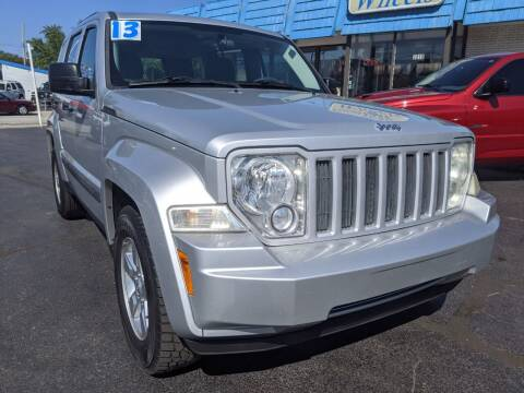 2012 Jeep Liberty for sale at GREAT DEALS ON WHEELS in Michigan City IN