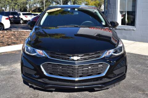 2017 Chevrolet Cruze for sale at Heritage Automotive Sales in Columbus in Columbus IN