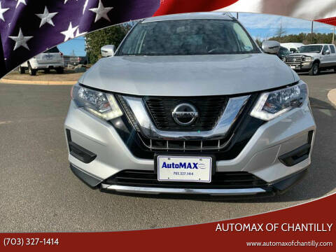 2018 Nissan Rogue for sale at Automax of Chantilly in Chantilly VA