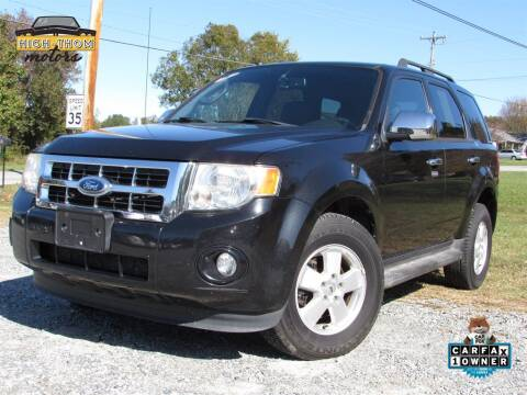 2011 Ford Escape for sale at High-Thom Motors in Thomasville NC