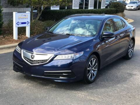 2016 Acura TLX for sale at Weaver Motorsports Inc in Cary NC