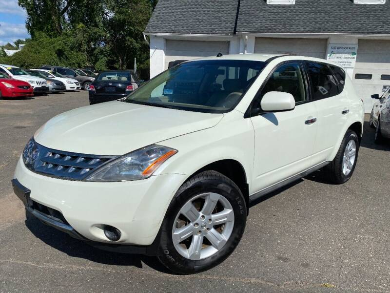 2007 Nissan Murano for sale at East Windsor Auto in East Windsor CT