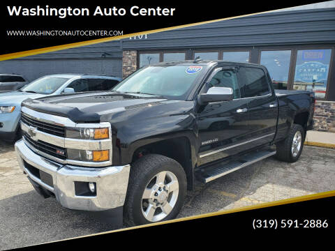 2016 Chevrolet Silverado 2500HD for sale at Washington Auto Center in Washington IA