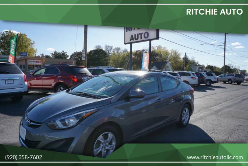 2014 Hyundai Elantra for sale at Ritchie Auto in Appleton WI