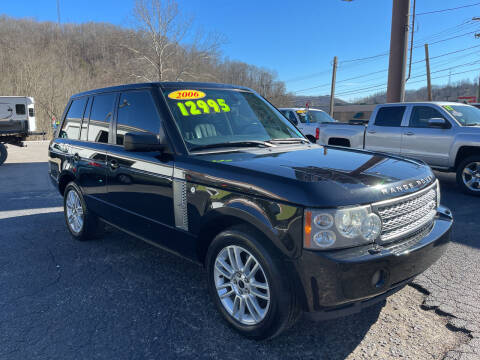 2006 Land Rover Range Rover for sale at PIONEER USED AUTOS & RV SALES in Lavalette WV